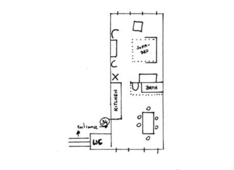2 rooms 47 m²