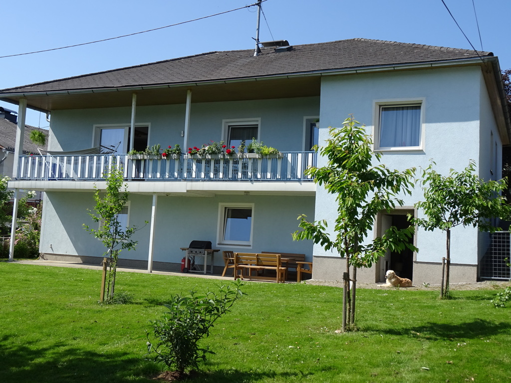 Our house (view from our garden)