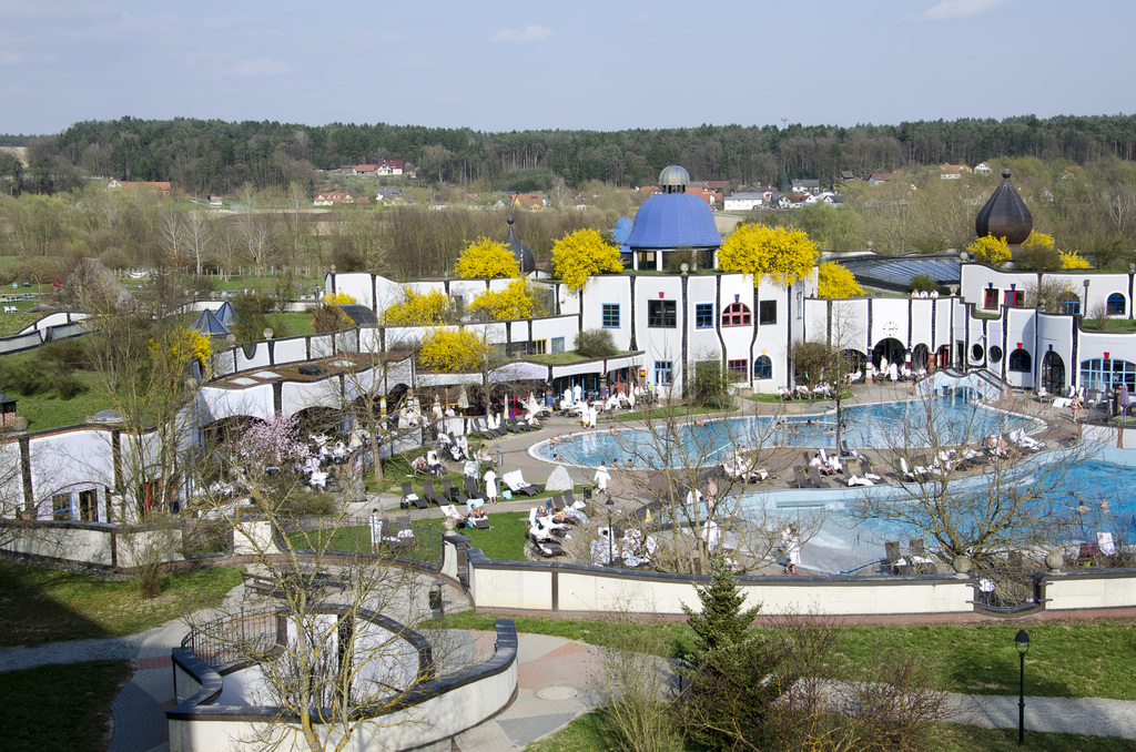 Spa Blumau (by F. Hundertwasser), 50 km distance