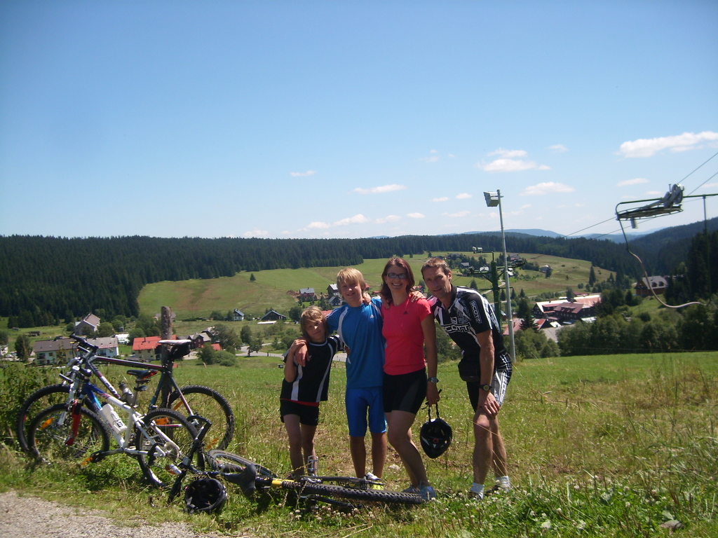 Cycling trip in the Czech Republic
