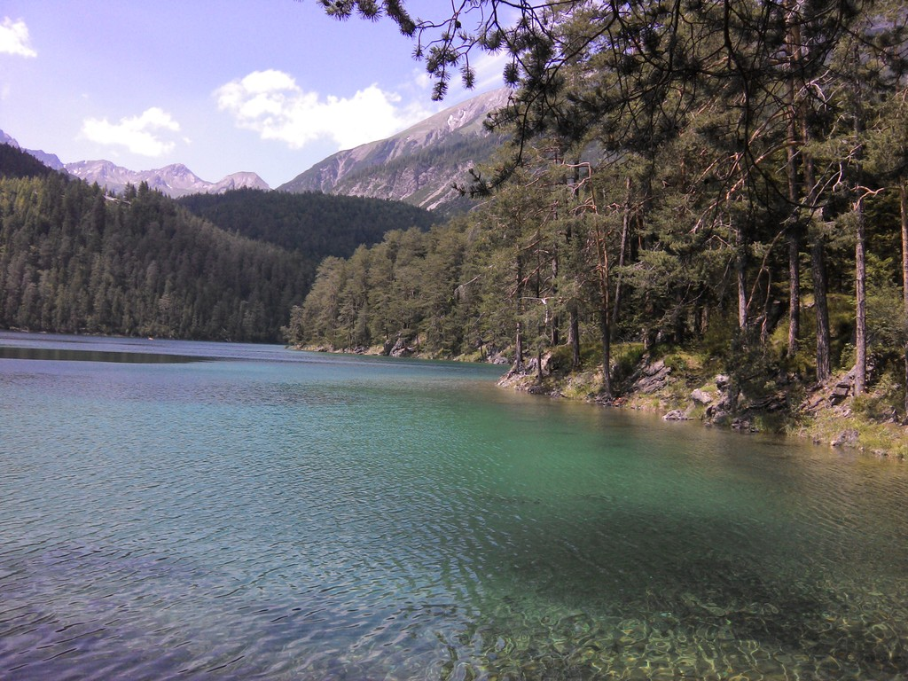 Mountain lake Blindsee