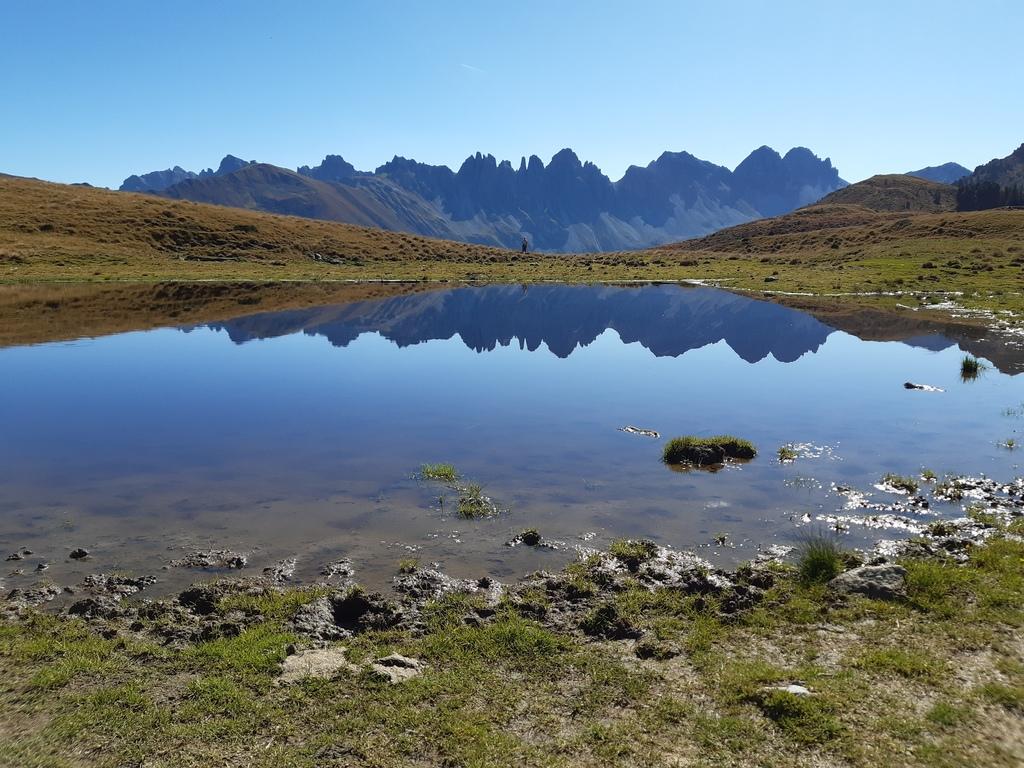 Mountain lake: Salfeins