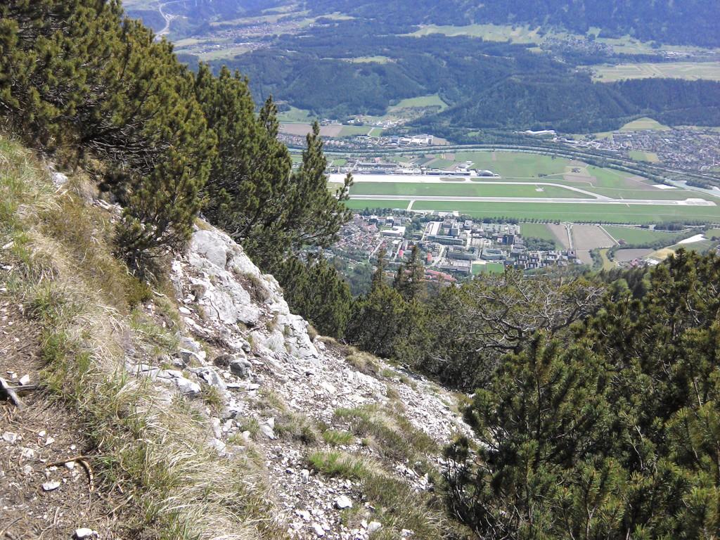 Innsbruck from above