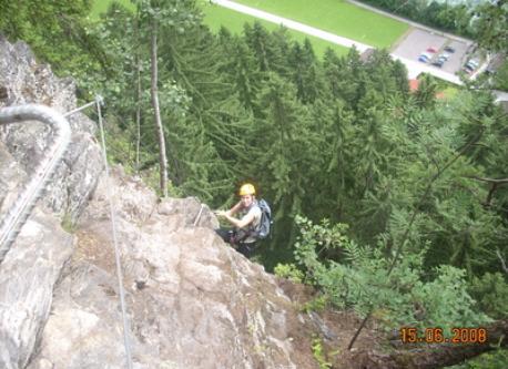 Klettersteig Mayrhofen, 5km