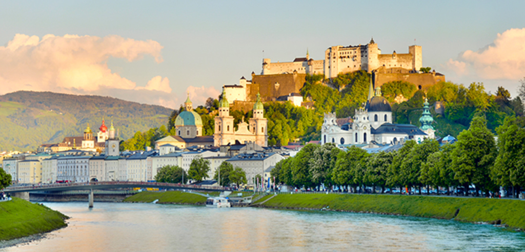 Salzburg - famous town 50min from us