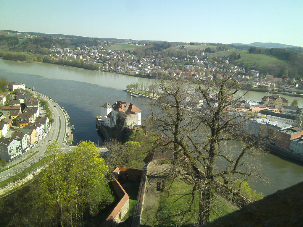 Passau -town of three rivers 35 min from us