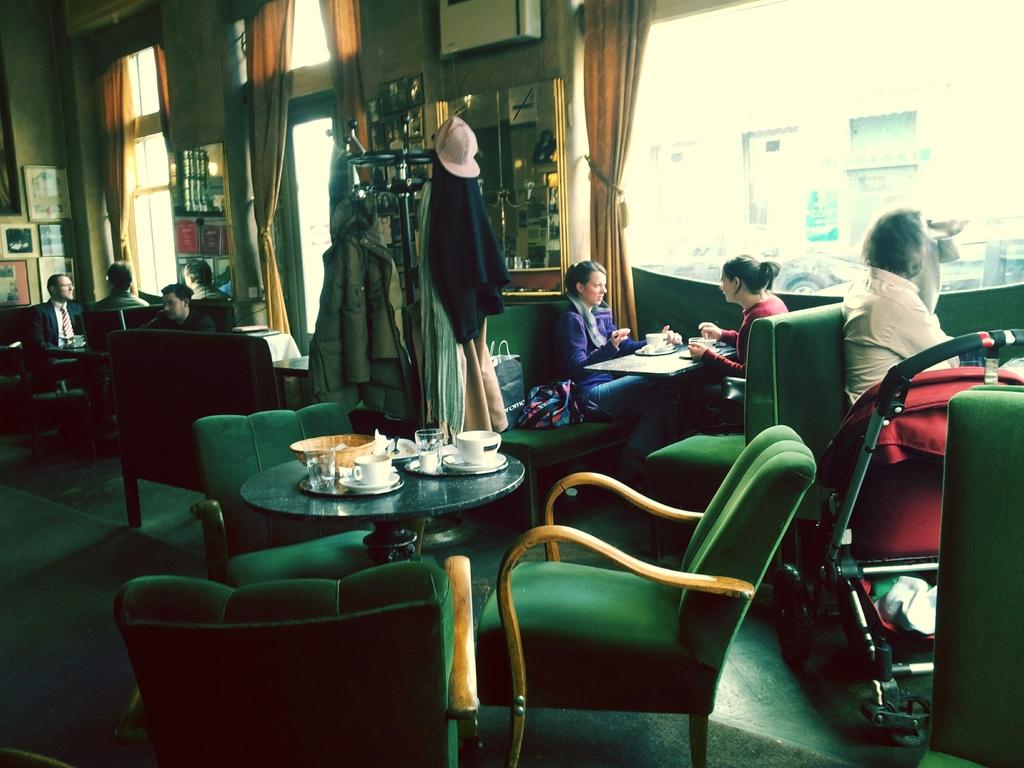 Café Jelinek near by the apartment