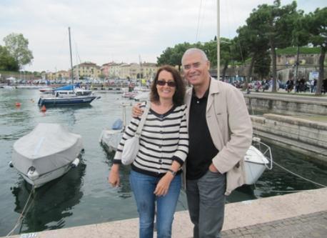Erika und  Adel El Sayed