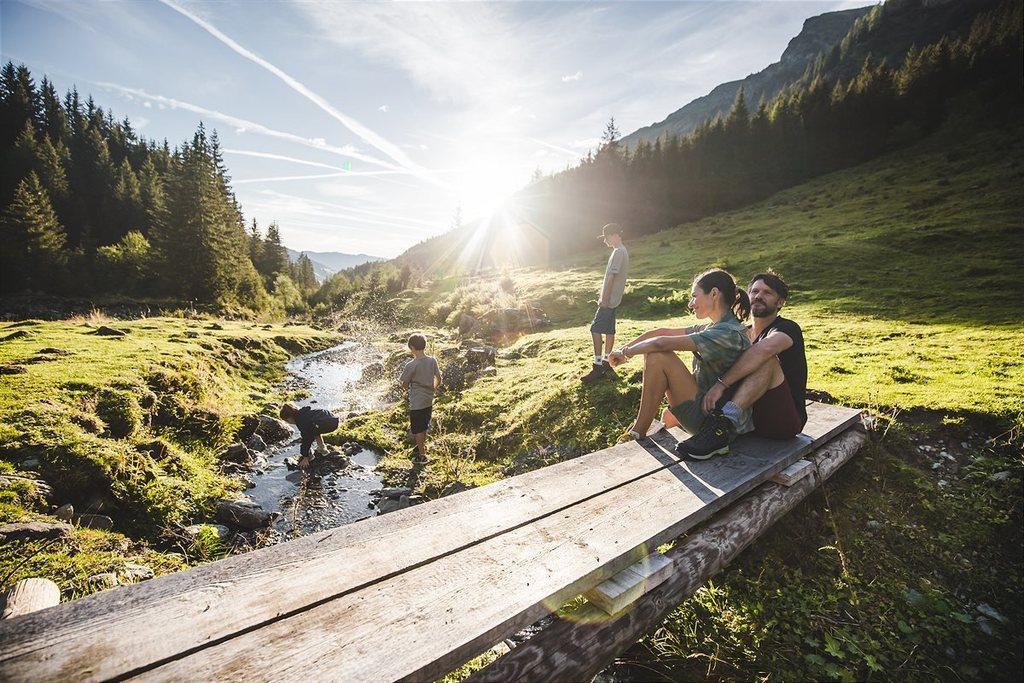 Saalbach in summer - hiking, biking, golfing, swimming