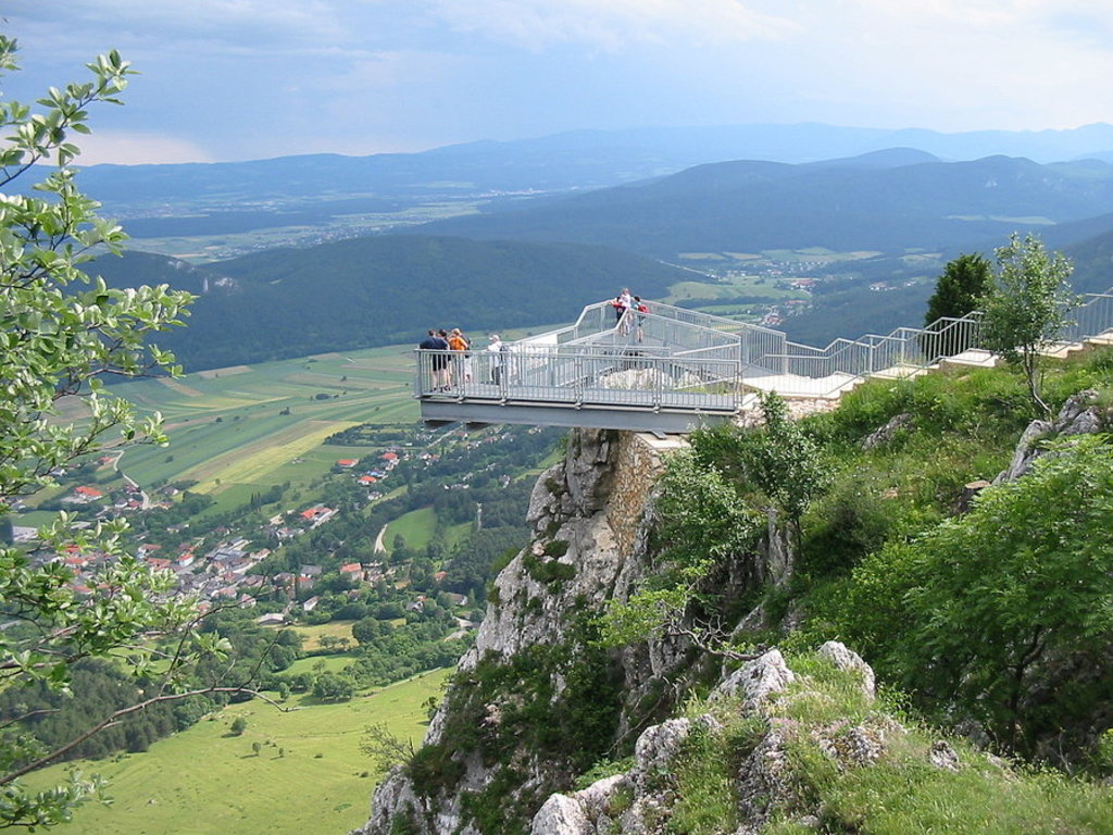 Hohe Wand with fatanstic views and also a lot to do with kids