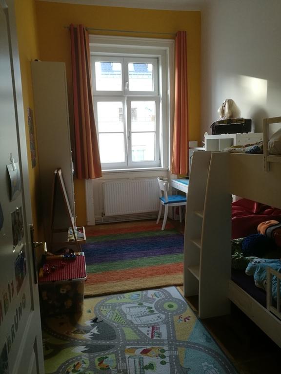 3rd room: kids room with bunk bed