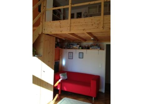 2nd room: teenager room with double loft bed
