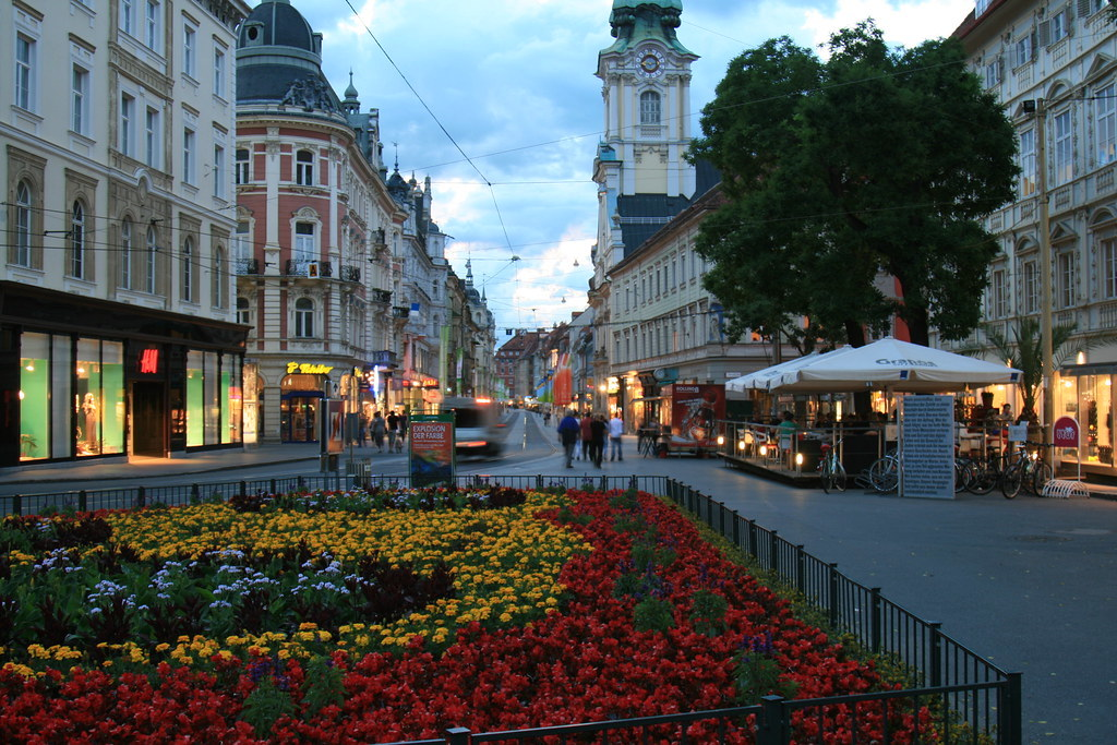 Graz downtown (copyright Pam)