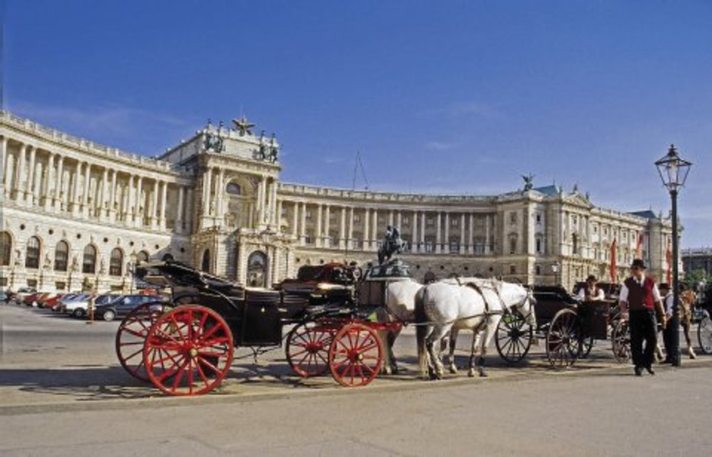 die Hofburg - winter residence of Sissy - you can visit her appartements