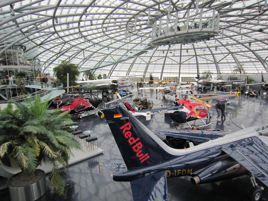 Hangar 7 of Red Bull (Salzburg Airport 5km)