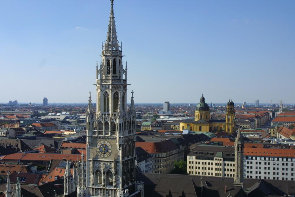 Munich (140km, 1.5 hours by train)