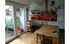 kitchen cum terrace