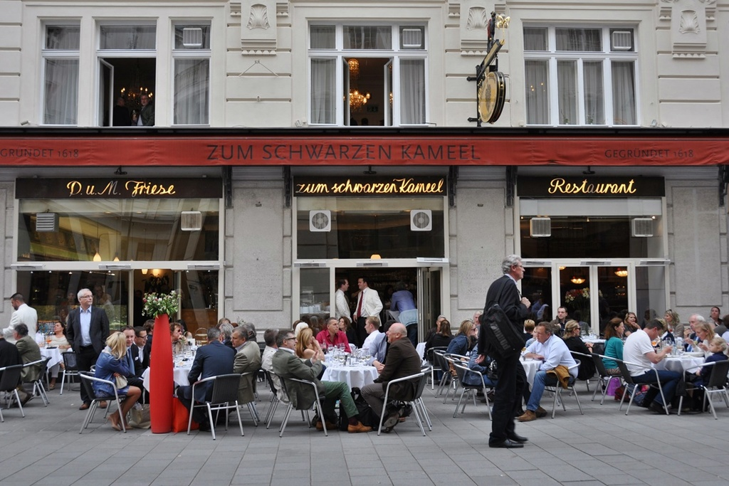 One of Vienna's famous Cafes and restaurants