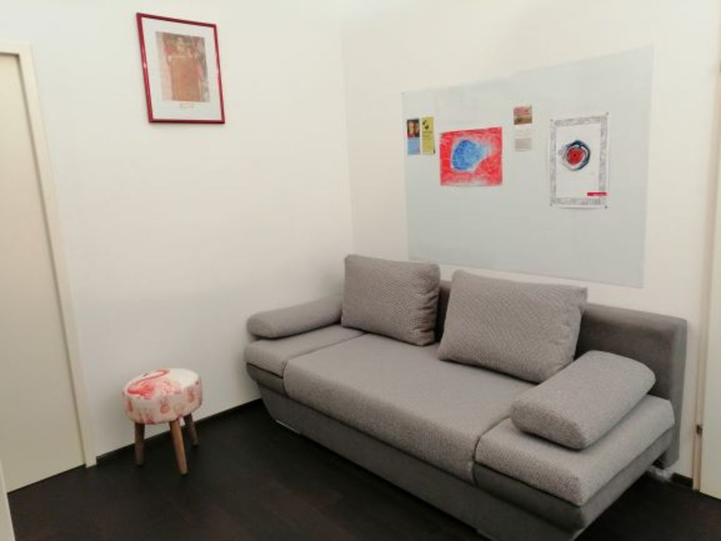 Study with sofa - additional bedroom