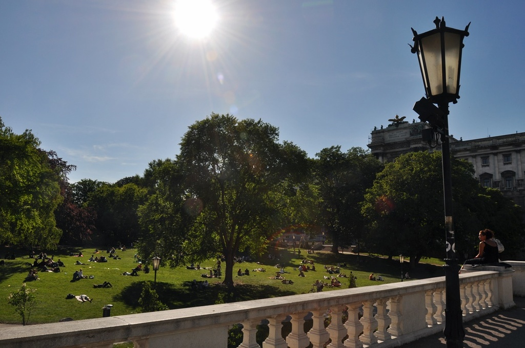 Burggarten - the green lung of Vienna
