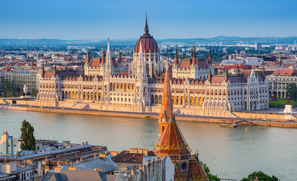 Budapest, Hungary's capital -  only 2,5 hours by car