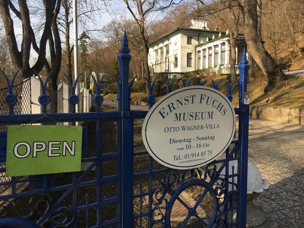 Museum of the Ernst Fuchs-Villa, 7 min walk