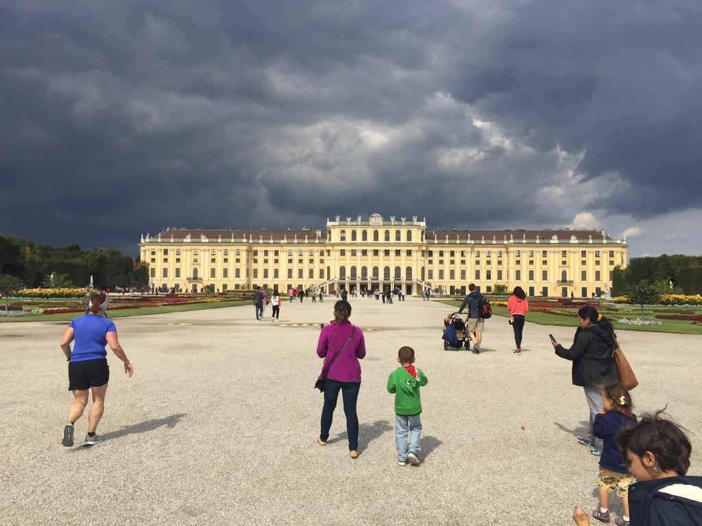 Schönbrunn Palace, 15 minutes away via Metro.