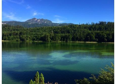Reintaler See/ Kramsach, lake Reintaler