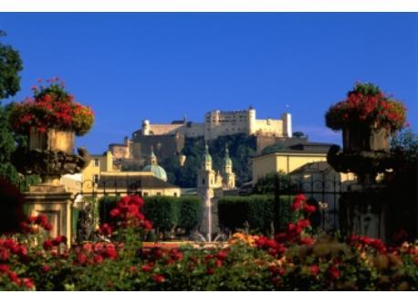 Mirabell Gardens + Fortress