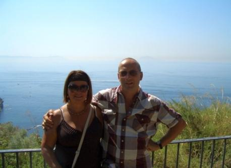 Helga & Walter on Vesuvio