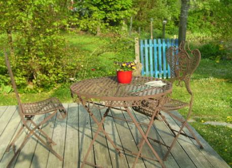 terrasse in our house
