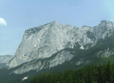 salzkammergut mountains 60 km