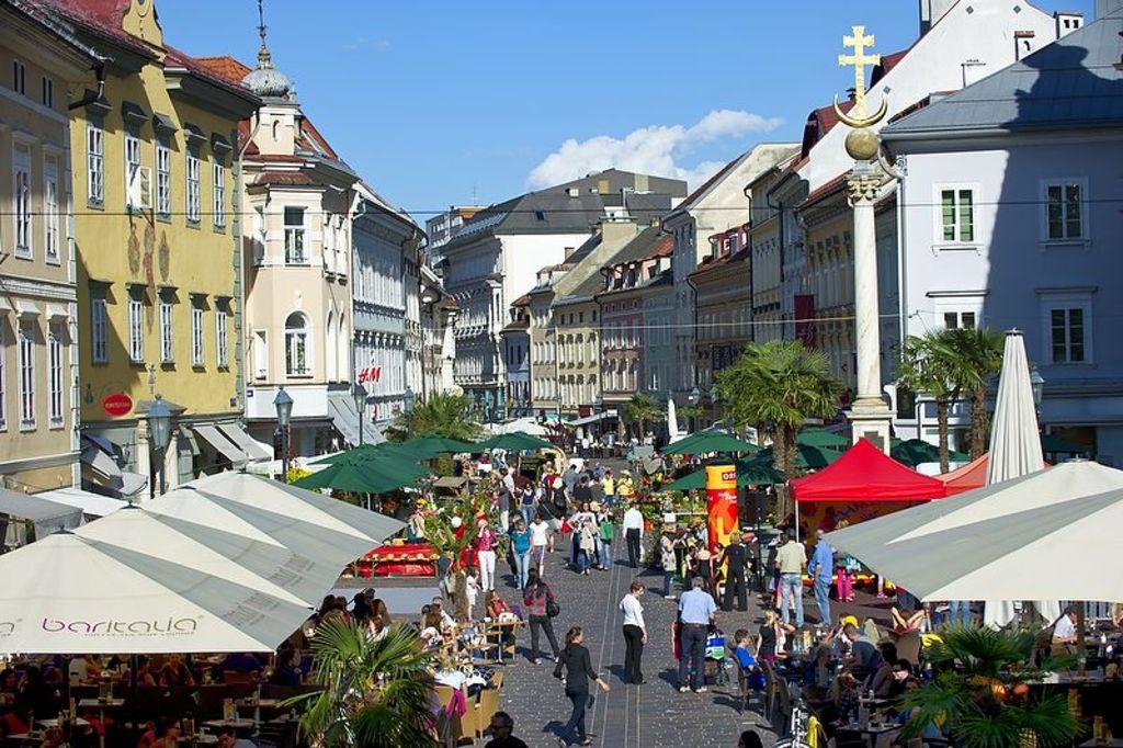 Klagenfurt - old quarter