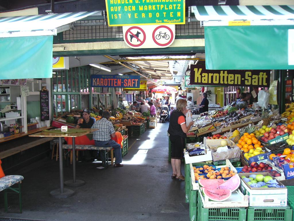 Klagenfurt - Benediktiner market