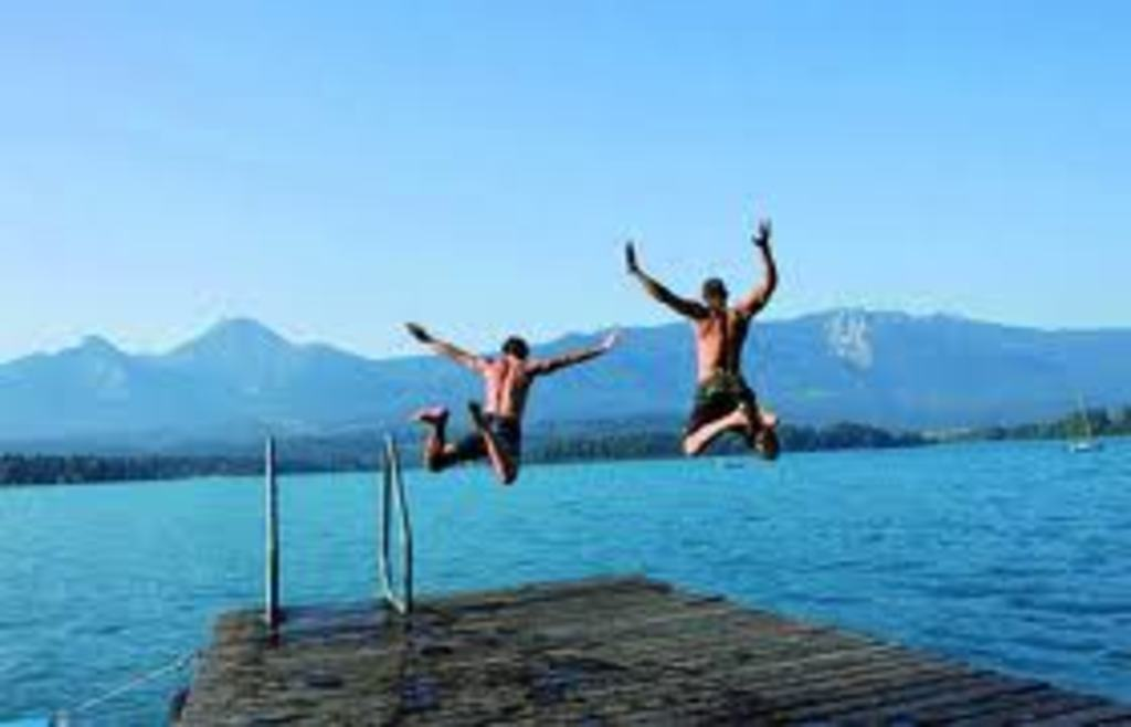 Wörthersee - one of the warmest Austrian lakes