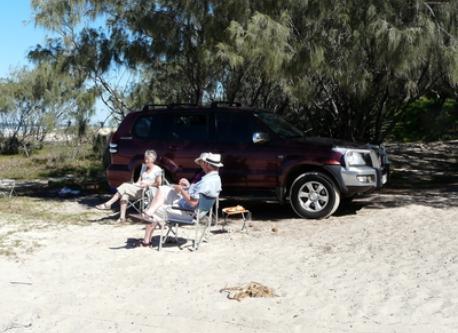 Beach Driving Fraser Island