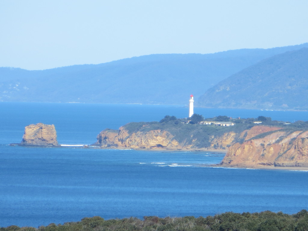 Views to lighthouse