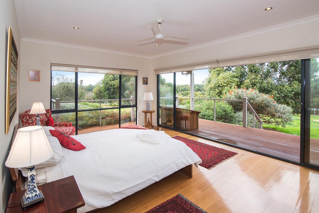 Main bedroom opening onto garden