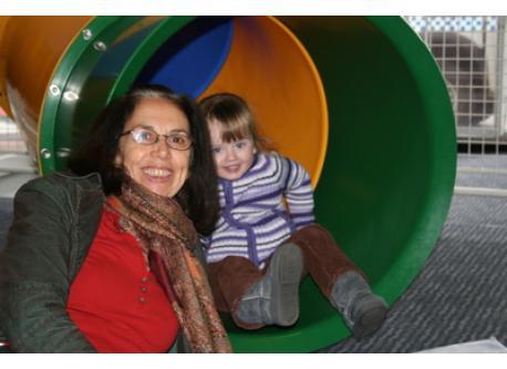 Grandchild,Sophie with me