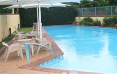 25m private lap pool