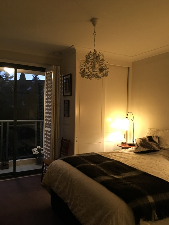The Bedroom at Twilight