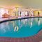 The heated indoor pool - there is a sauna and spa pool as well