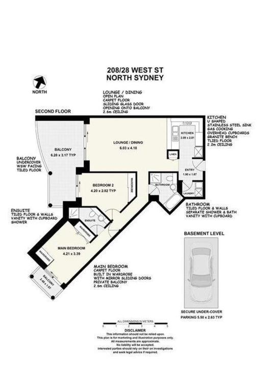The floor plan of our new apartment