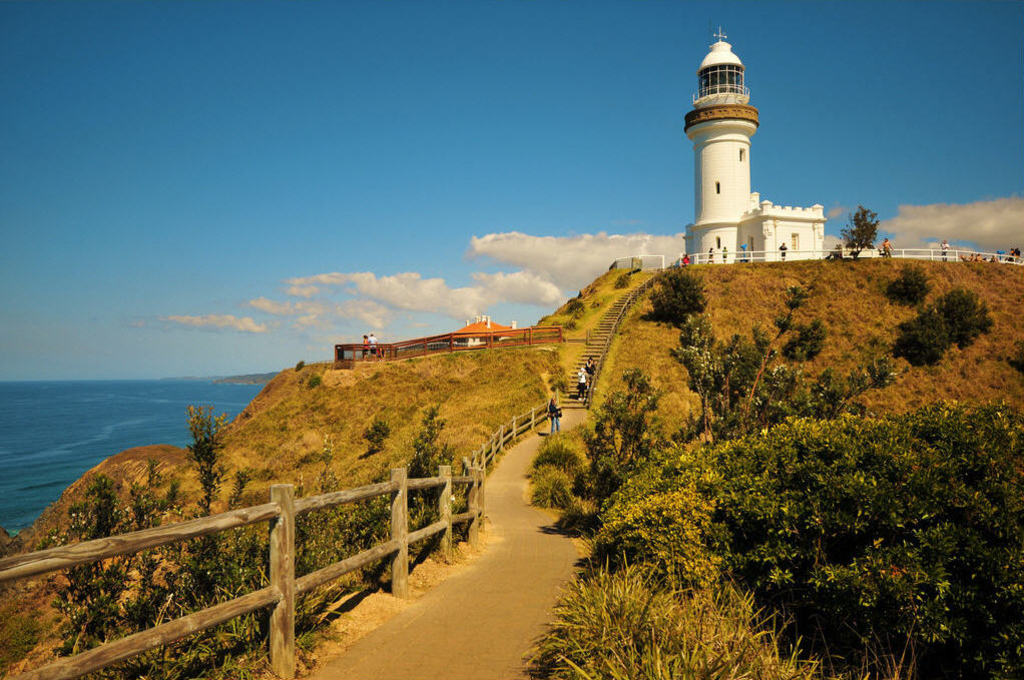 Cape Byron - Australia's most easterly point.