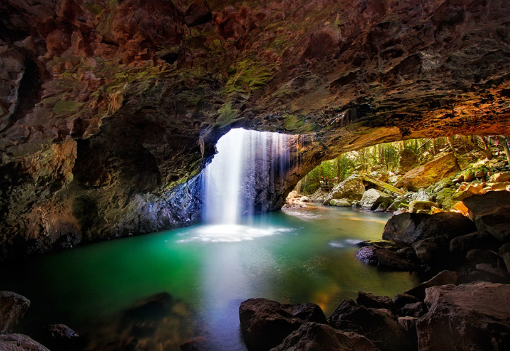 Natural Bridge - Springbrook National Park