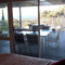 Main bedroom with view of Port Phillip Bay.