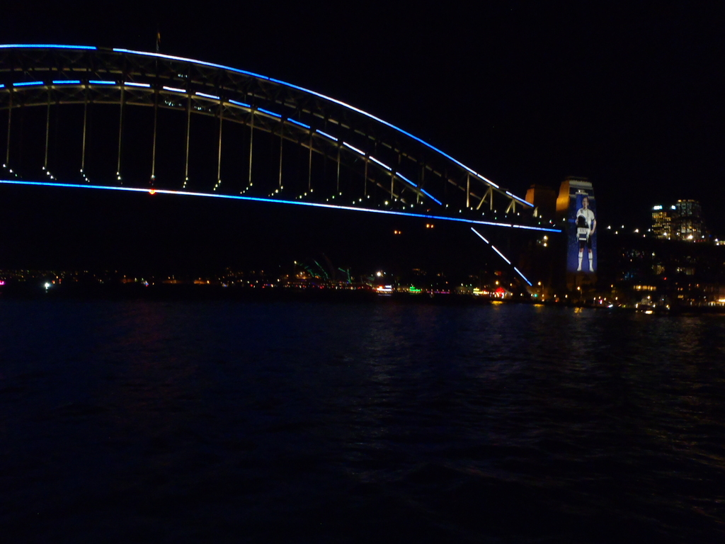 Or maybe a night climb of the Harbour Bridge.