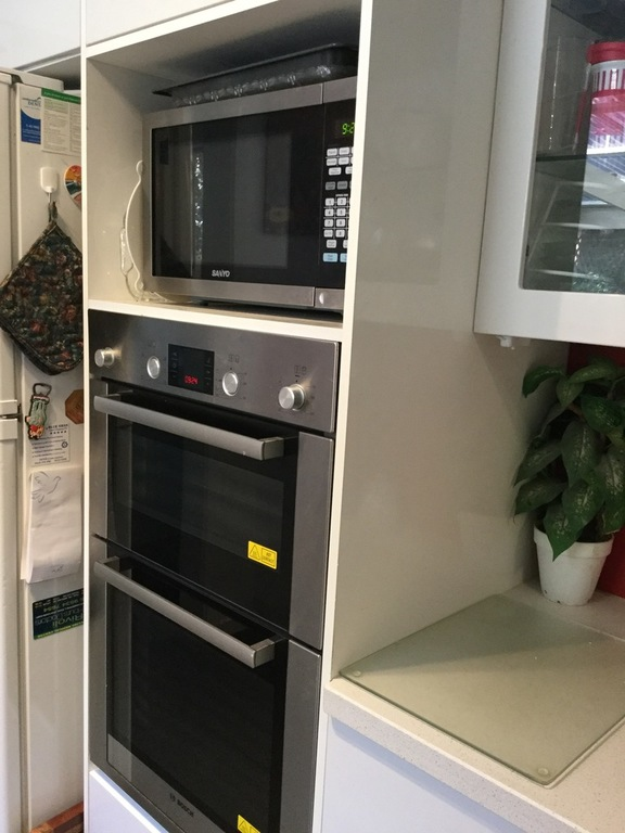 Double oven & microwave