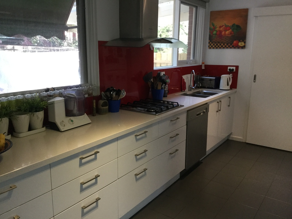 Kitchen workbench and sink