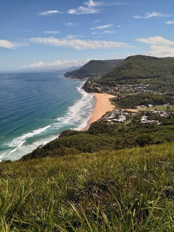 Looking south from Bald Hill